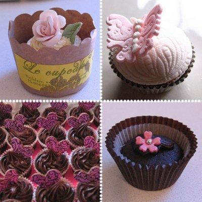 les cupcakes bon  pour les yeux et le ventre!!!!!