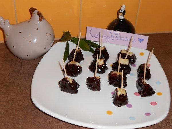Sucettes Pomme Chocolat Crée Par Moi !