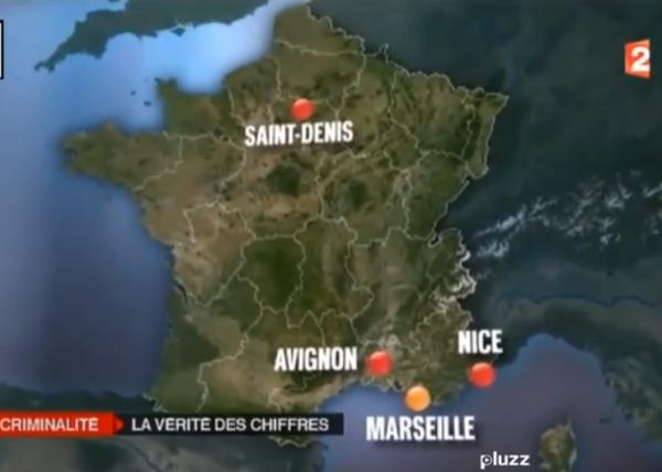 Les villes les plus délinquantes de France©
