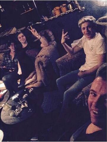 Niall, Mark, Luke et Calum ♥