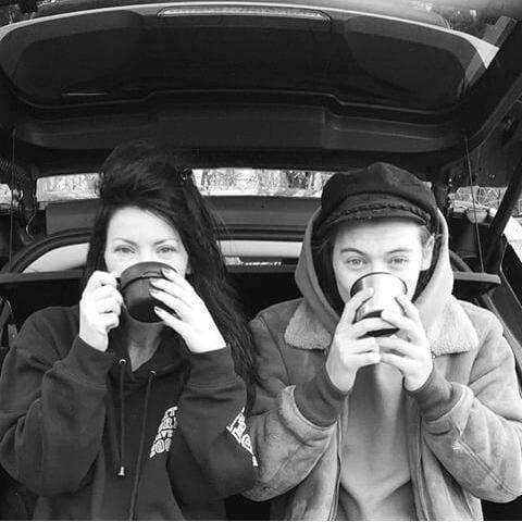 Ah c'est trop cute :3 Anne et Harry ♡♡