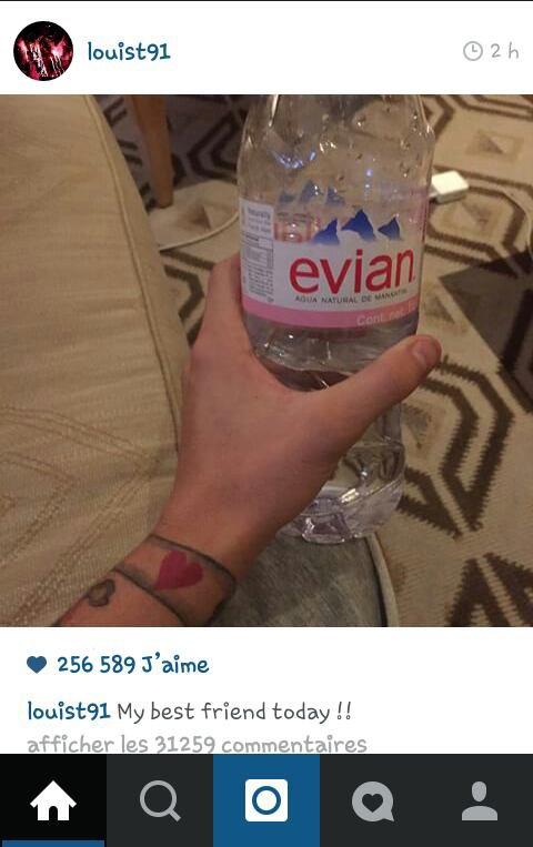 Louis a encore poster aujourd'hui sur instagram :) C'est fabuleux x) ♡