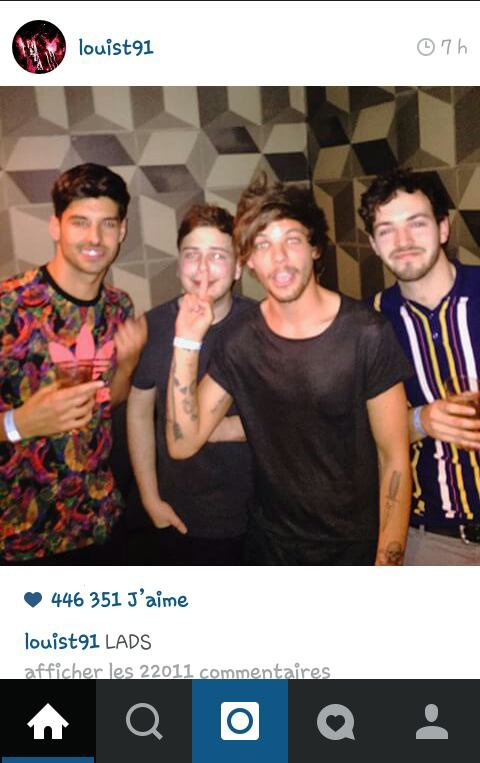 Louis instagram ! ^^
