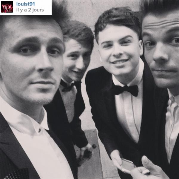 Louis sur instagram avec des amis ^^