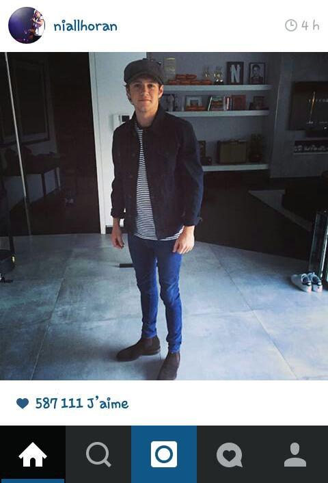 Niall sur instagram aujourd'hui ! Awww il est trop beau comme ça *.* ♥