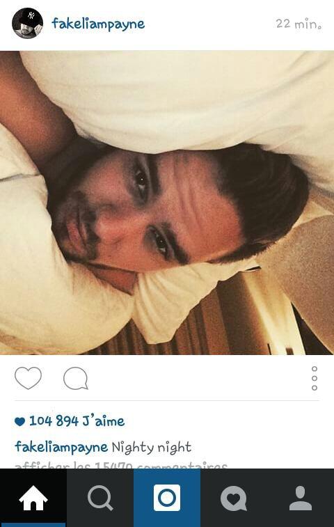 Liam instagram ! Trop cute :3