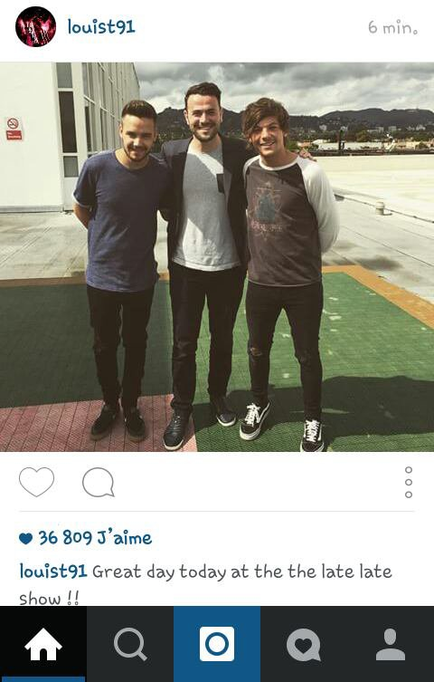 Louis a poster cette photo sur IG !