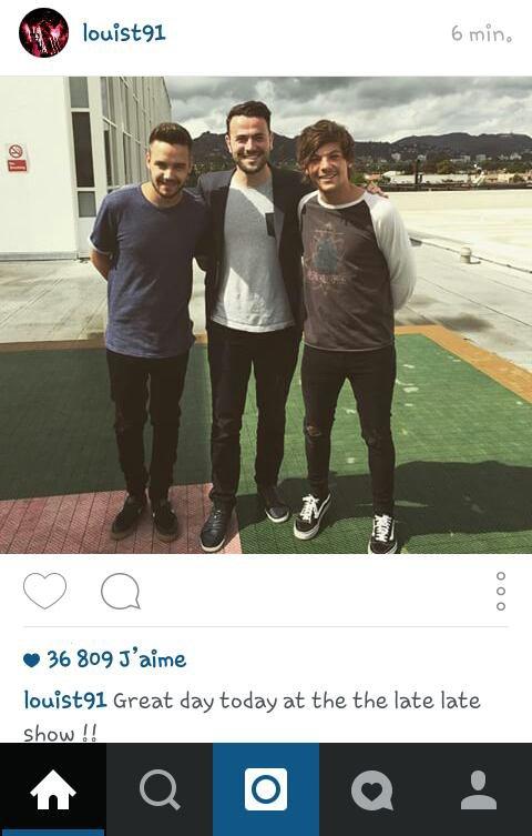 Louis a poster cette photo sur IG !
