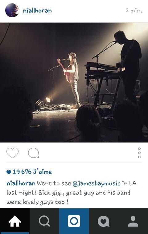 Niall on IG !