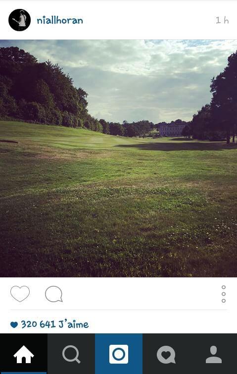 Niall sur instagram 08/06/15
