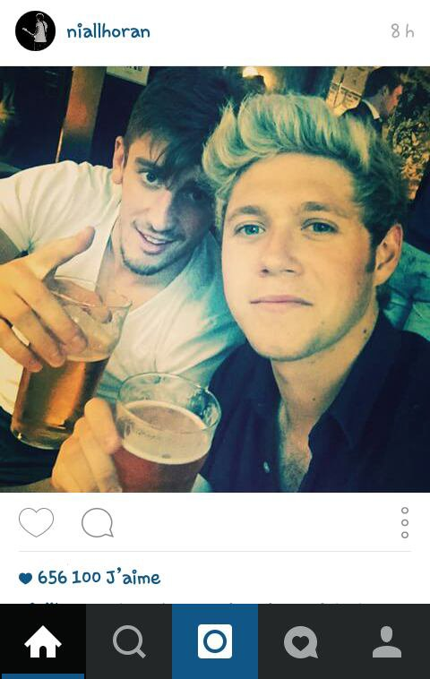 Niall sur instagram ! 12/06/15