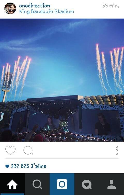 One Direction sur instagram 2 ;) 13/06/15