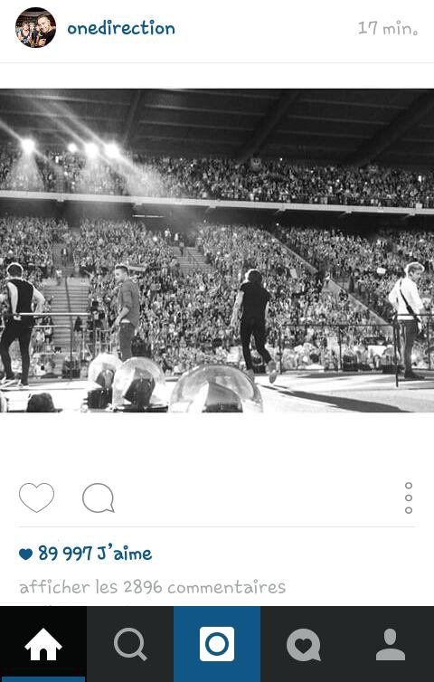 Niall et One Direction sur instagram ! :) 14/06/15
