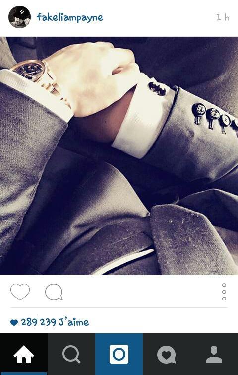 Liam sur instagram :) 17/06/15