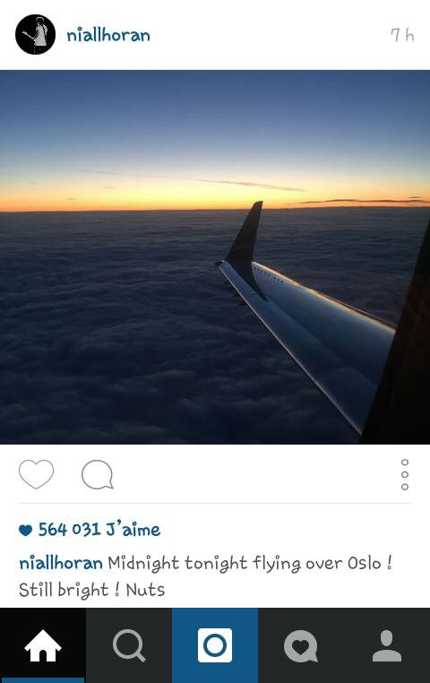 Liam et Niall sur instagram ! :) 20/06/15