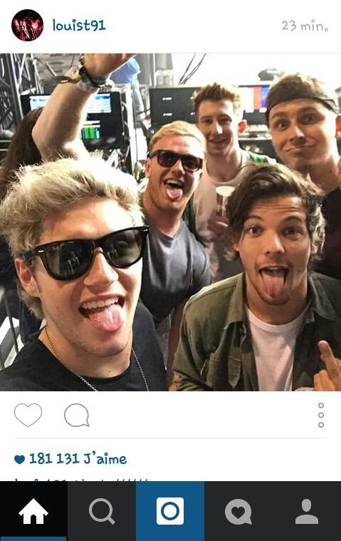 One Direction & Louis instagram ! :)