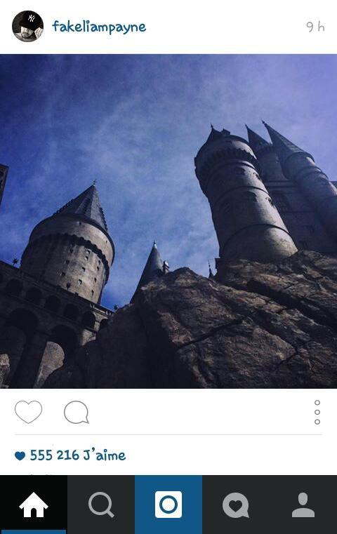 Liam sur instagram ! :)