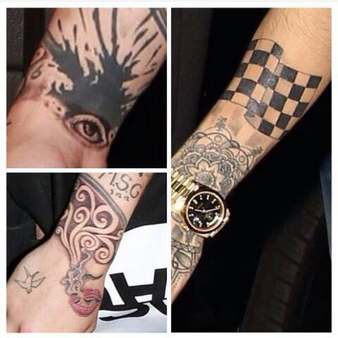 Zayn tatouage !