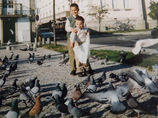 Mon rituel quand je sortais au Portugal accompagné de mon grand frère