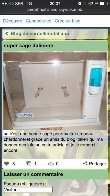 Recherche cage
