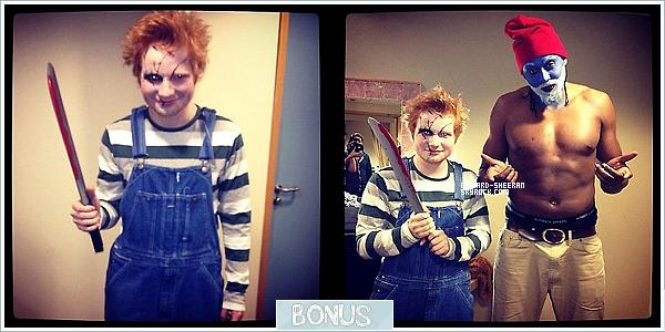 Halloween ll Quand Ed fête Halloween, ça donne ça... www.Edward-Sheeran.skyblog Ta première source française sur Skyblog !