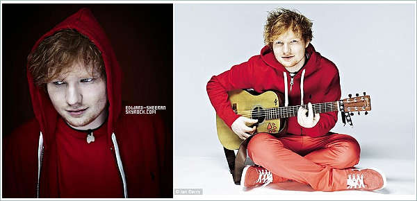 Photoshoot ll Photoshoot Ed Sheeran datant de 2012, de Alex Vanhee www.Edward-Sheeran.skyblog Ta première source française sur Skyblog !
