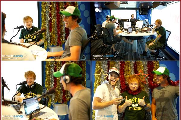 RATTRAPAGE DU MOIS DE MARS ( PARTIE 1 ) :  Ed en concert à Sydney, à Brisbane, à Melbourne. Ed était présent dans l'émission de radio Hamish & Andy pour une interview. US tour diary partie 3 dévoilée + Instagram.