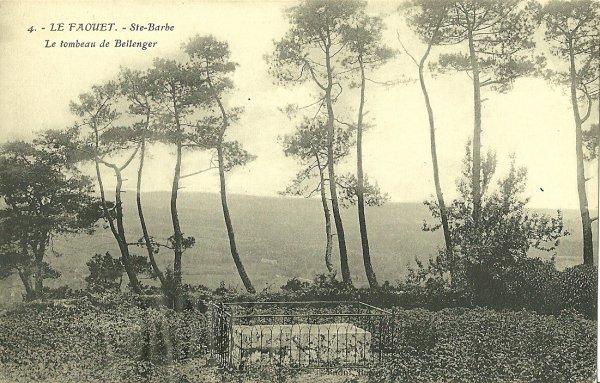 Le tombeau de Bellanger Chapelle Sainte-Barbe, Le Faouët