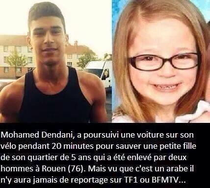 Puisque C'est Un Arabe Qui a Fait Un Geste Magnifique TF1 Ne Parlera Pas De Lui !!!!!