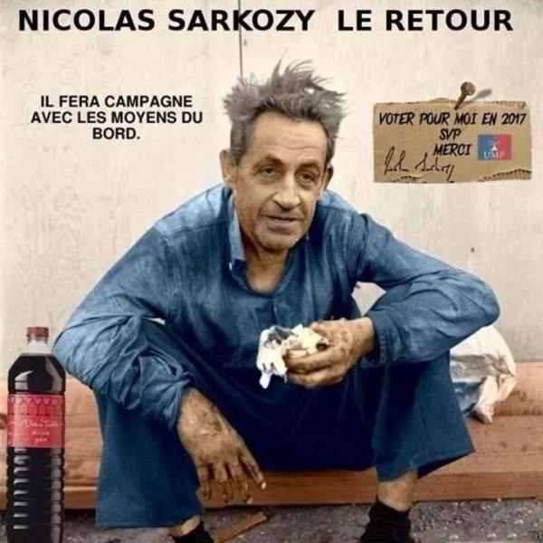 Le type qui a fait ça est doué. Allons-y, puisque Nicolas Sarkozy préfère les caricatures à la censure.