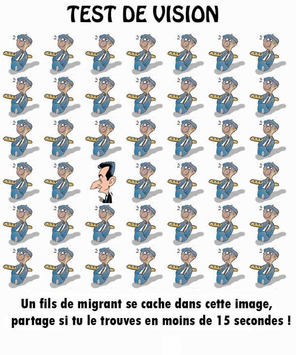 Un fils de migrant se cache dans cette image.  Peux-tu le trouver en moins de 15 secondes?