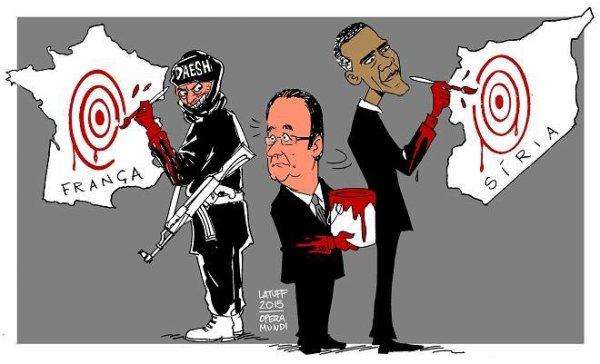 caricature Bresilien