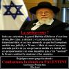 Pourquoi les médias français n'en parlent pas de ce sioniste !!!
