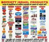 boycott zionists israel barcode start with 729 and also start with 350