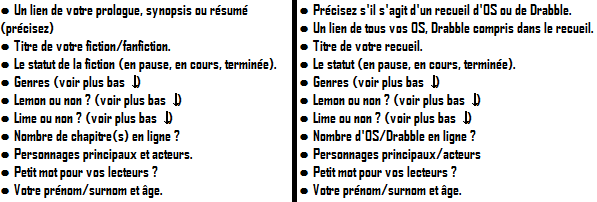 Inscriptions.