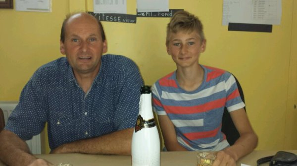 Freddy et Jeremy  Gouillart remporte le 1er concours jeunes 2017 sur BRETEUIL