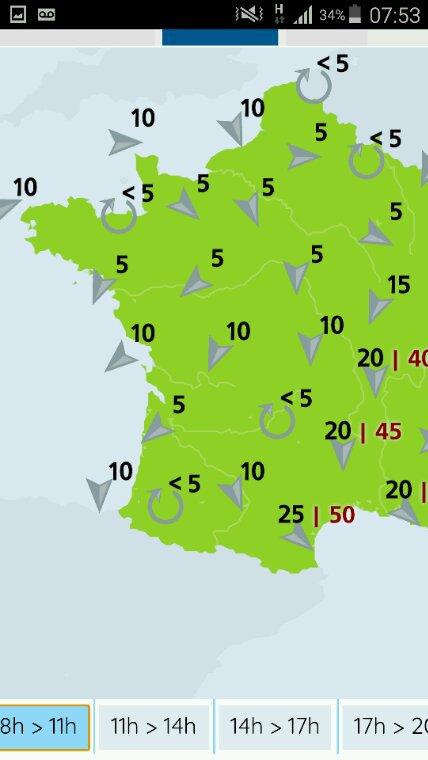 Le Mans et Sigogne 7h30  et Cahors 7h45