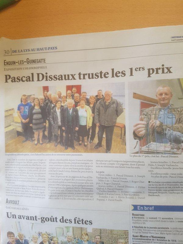 N° 41 Pascal DISSAUX