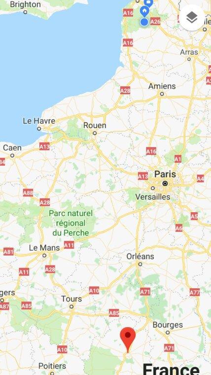 Châteauroux, 1er concours fédéral à rayon  Nord Pas De Calais.