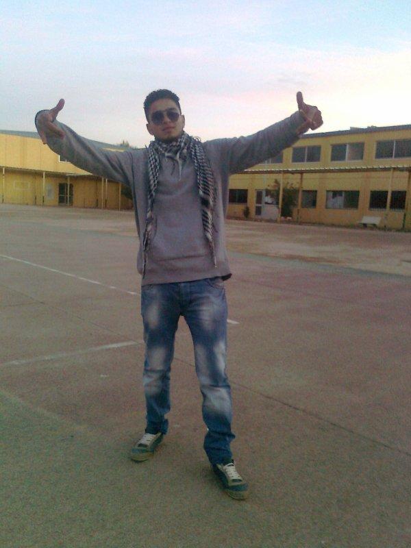 moi dans mon école