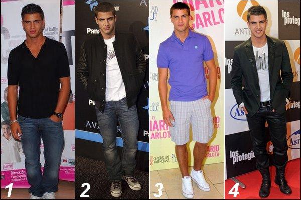Quel tenue de Maxi Iglesias préfères-tu ? ( Bavez pas trop les filles :p ) VOTEZ