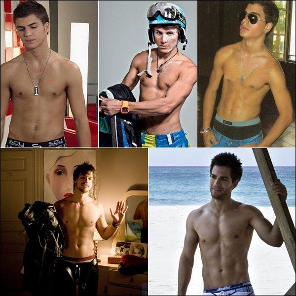 Quel est le corps qui t'envie le + :p ? Celui de Maxi Iglesias, Alex Hernández, Adrian Rodriguez, Michel Gurfi ou Marc Clotet ?