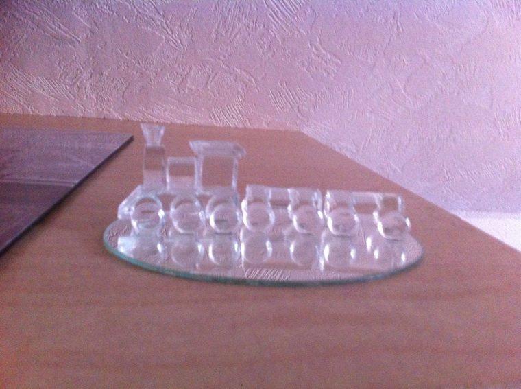 Achete en cristalerie