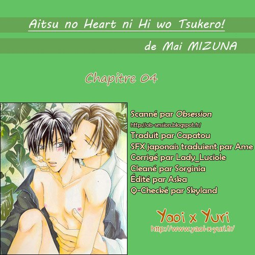 Scan Yaoi: Sweet Destiny