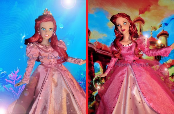 [...Ariel...] - Ashton Drake VS Tonner