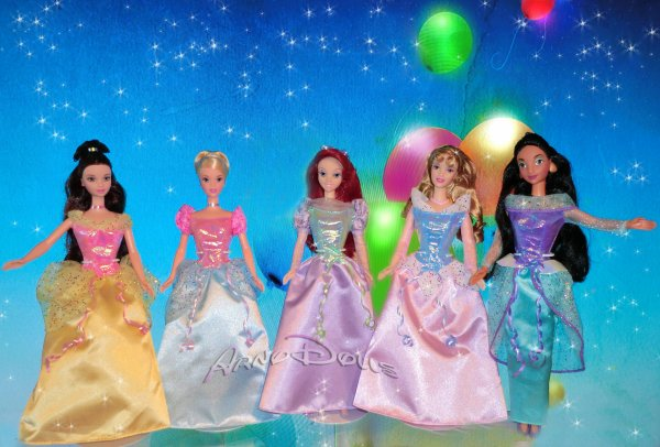 "Disney ""Princess Party"" by Mattel"
