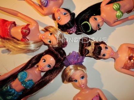 """Une nouvelle série de """"Soeurs d'Ariel"""" OOAK sur eBay"""