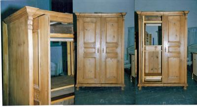 armoire ancienne transformee en meuble tv hifi anti aglolestienne. Black Bedroom Furniture Sets. Home Design Ideas