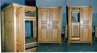 armoire ancienne transformee en meuble tv hifi anti aglolestienne. Black Bedroom Furniture Sets. Home Design Ideas
