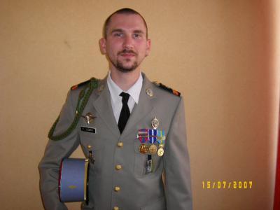 Moi en costume de sous officier de l 39 arm e de terre t 39 as - Grille indiciaire sous officier armee de terre ...